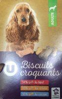 Biscuits Croquants Pour Chien U, - Product
