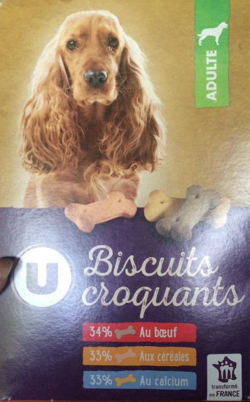 Biscuits Croquants Pour Chien U, - Product - fr