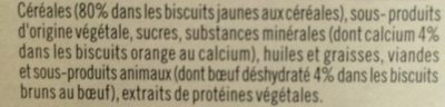 Biscuits Croquants Pour Chien U, - Ingredients - fr