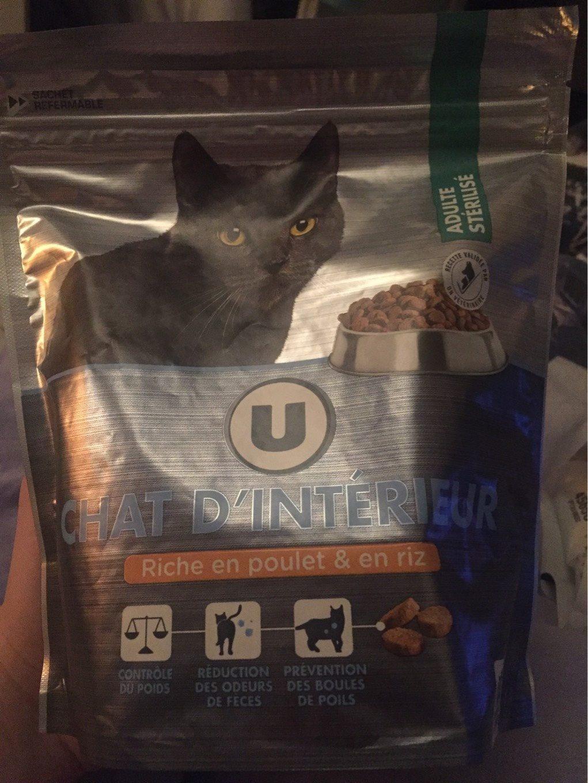 Croquettes Pour Chat Stérilisé Premium U, - Produit