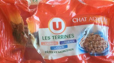 Les Terrines au Saumon, à la Dorade et au Colin - Product - fr