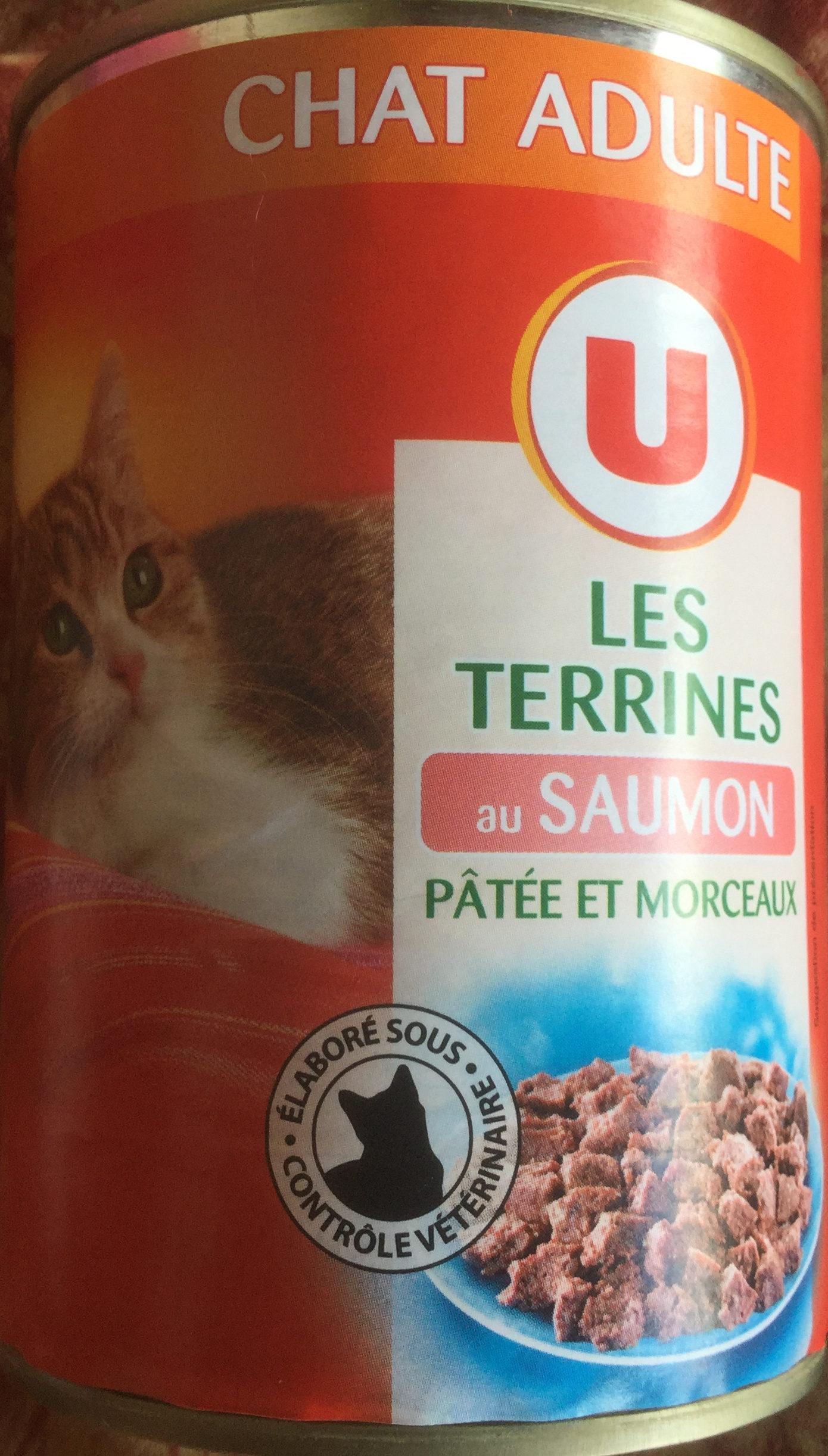 Les Terrines au Saumon - Produit