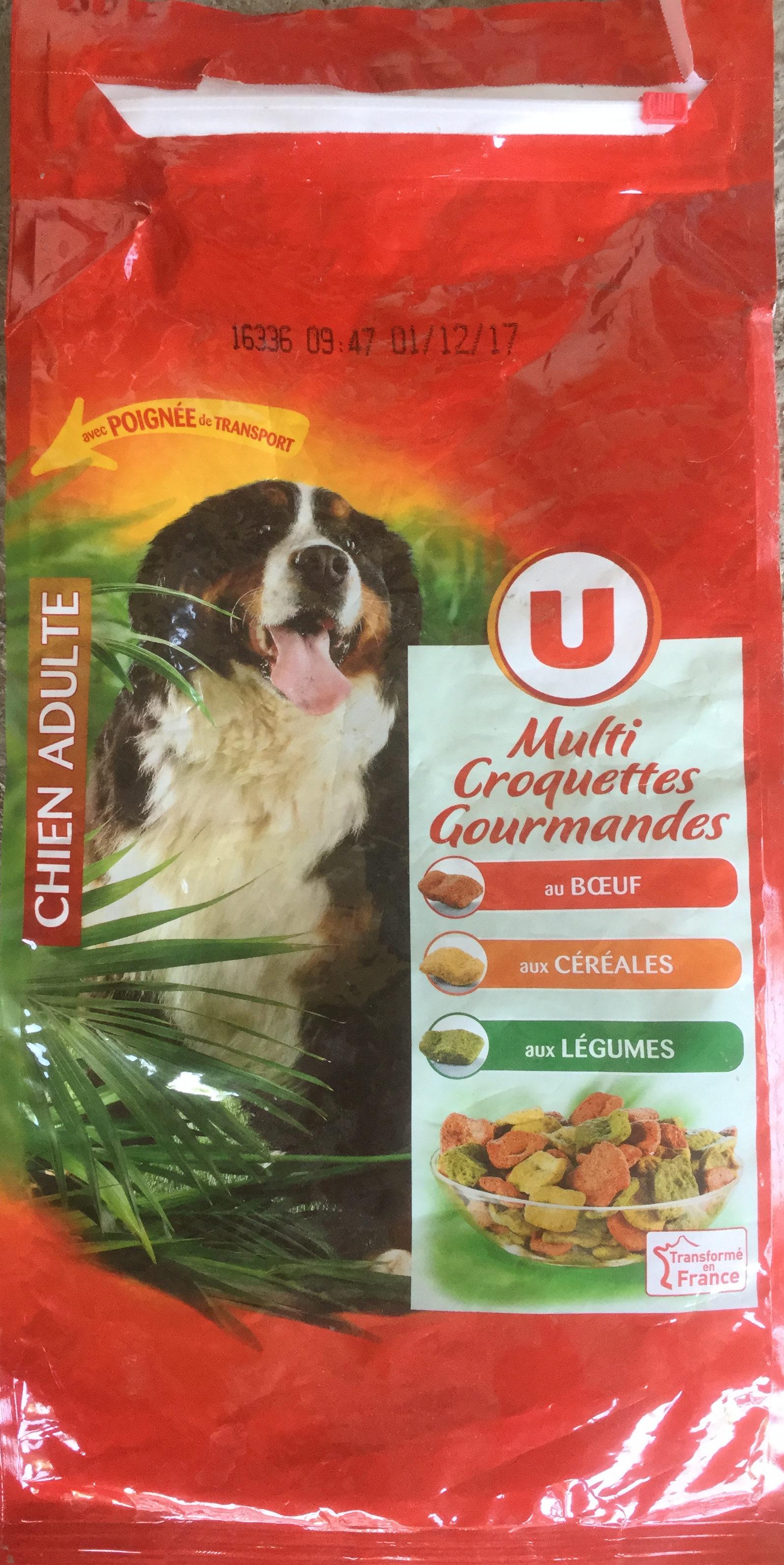Multi croquettes gourmandes au bœuf, aux céréales, aux légumes - Product