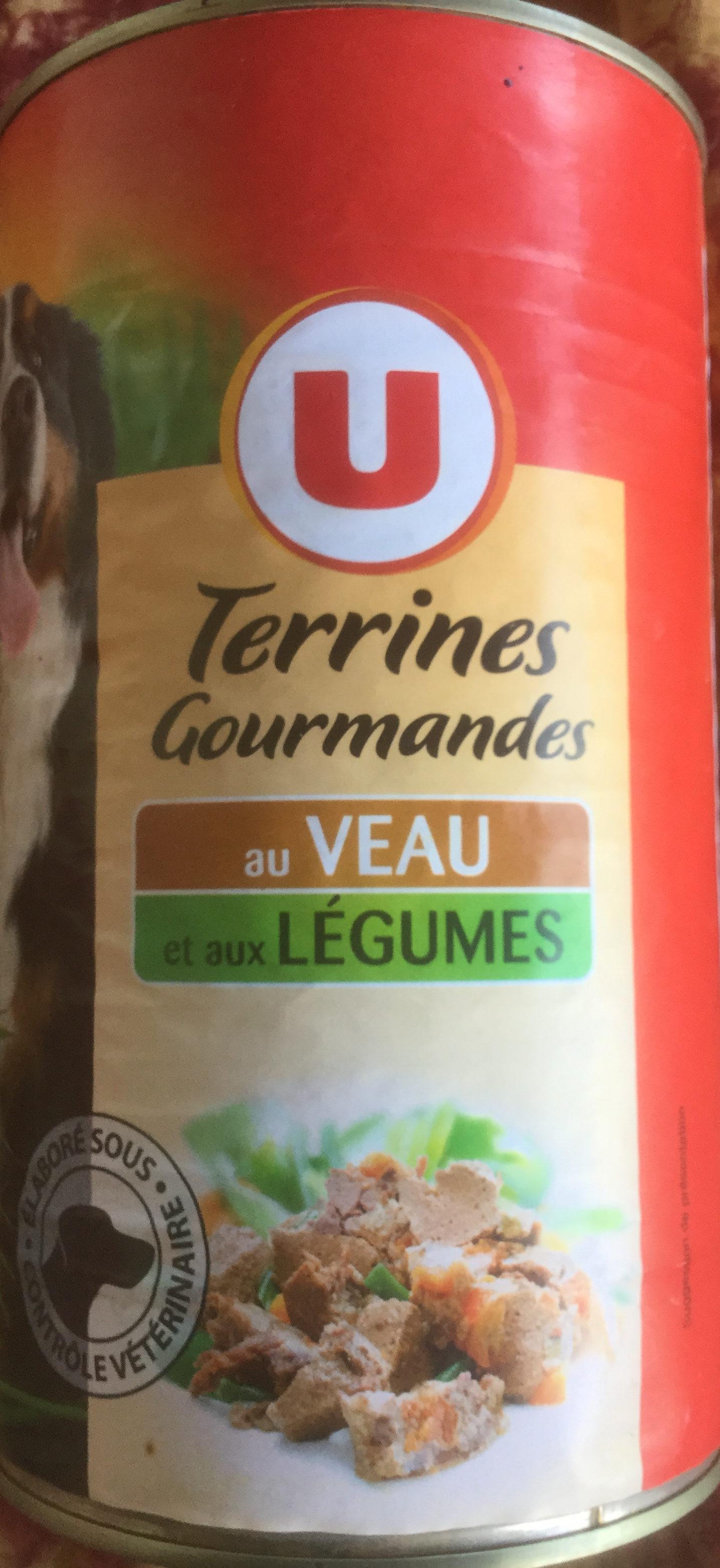 Terrines Gourmandes au Veau et aux légumes  - Produit