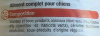 Terrines Gourmandes au Veau et aux légumes - Ingredients - fr