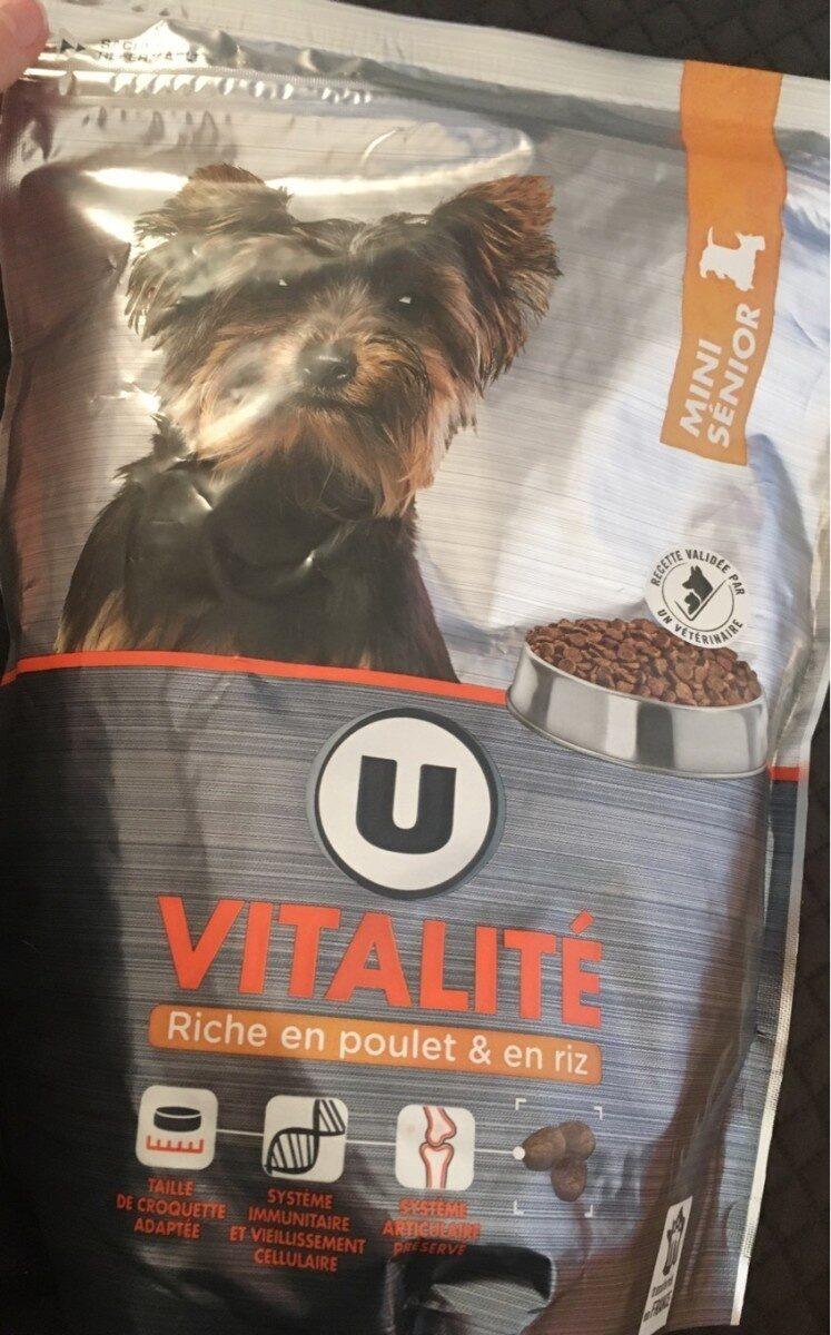 Croquettes vitalité mini sénios - Produit - fr