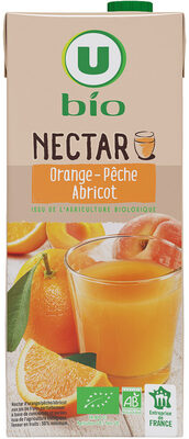 Nectar orange pêche abricot - Product - fr