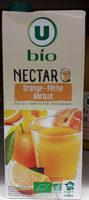 Nectar orange - pêche - abricot Bio - Product