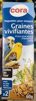Baguettes pour oiseaux Graines vivifiantes - Product