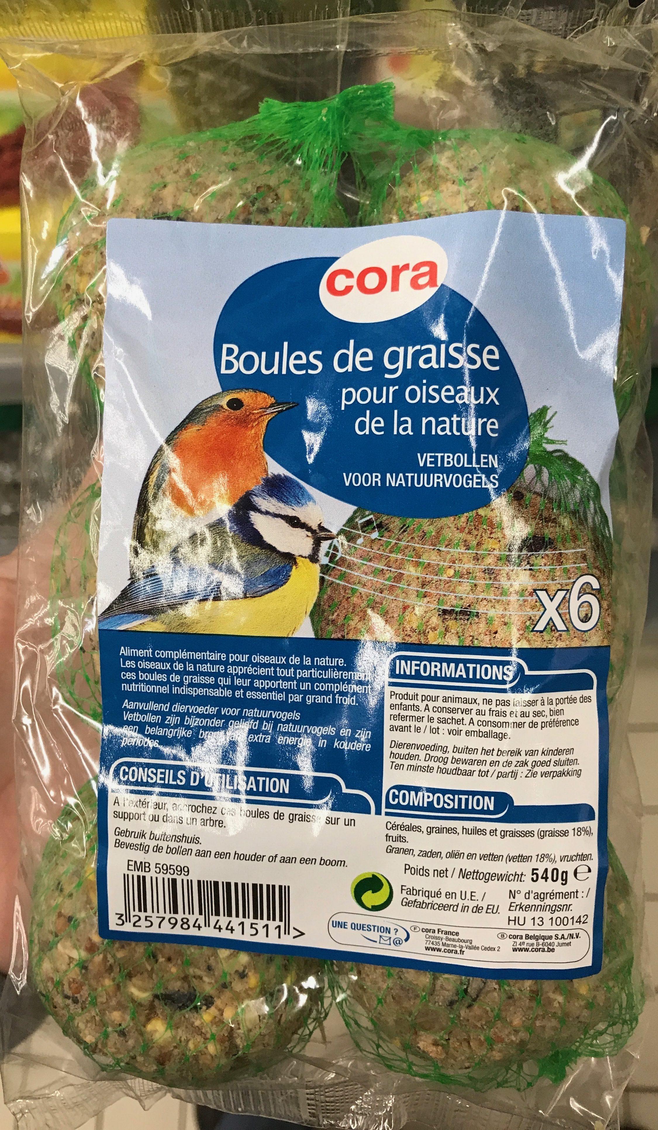 Boules de graisse pour oiseaux de la nature - Product