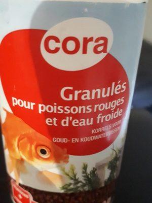 Granulés pour poisson rouges - Product