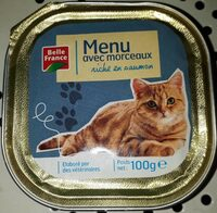Barq. Menu Chat Saumon B. F - Product - fr