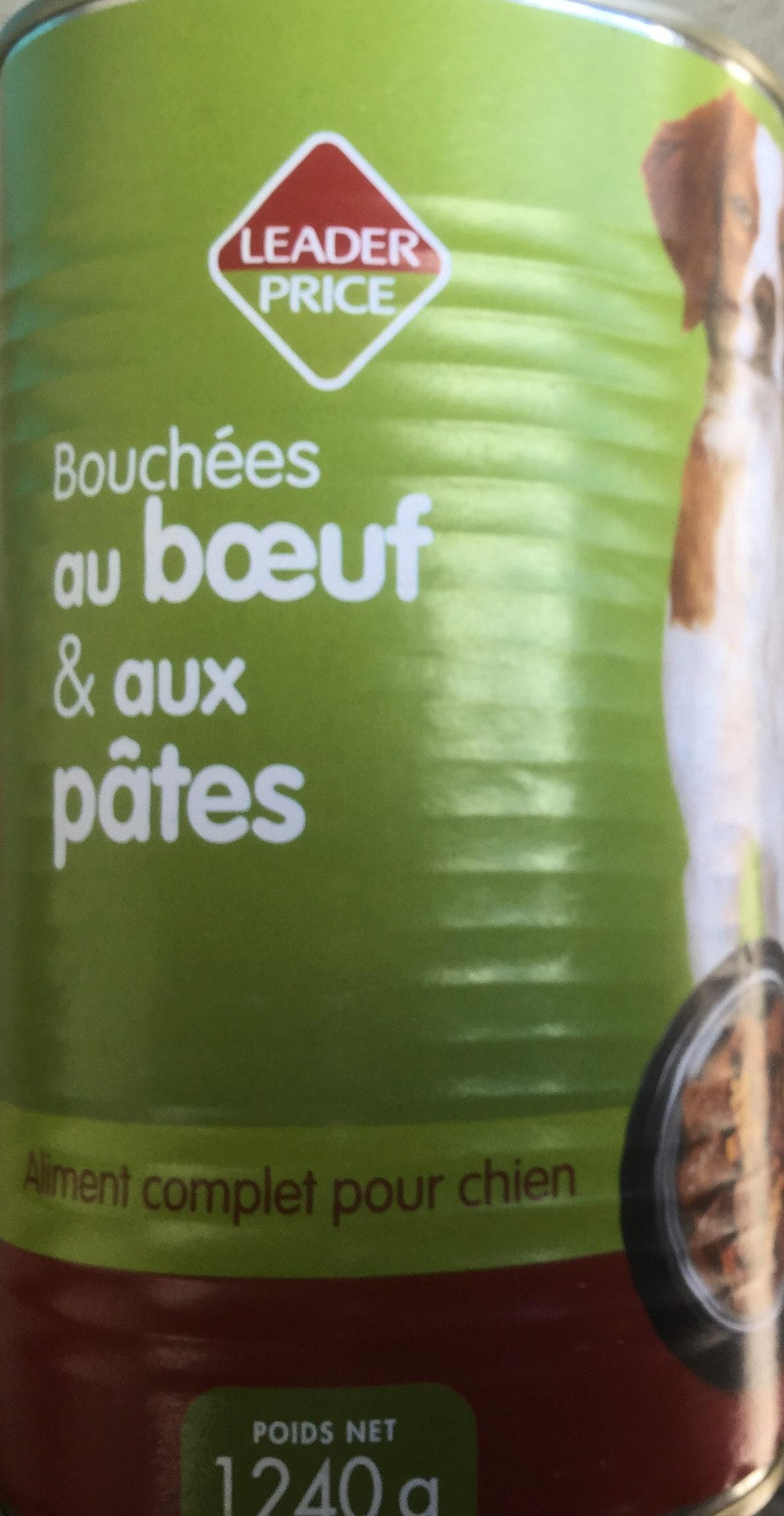 Bouchées au bœuf & aux pâtes - Product - en