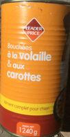Bouchées à la volaille & aux carottes - Product - fr