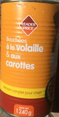Bouchées à la volaille & aux carottes - Product