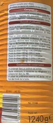 Bouchées à la volaille & aux carottes - Ingredients - fr