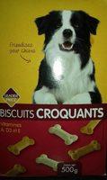 Biscuits croquants pour chien (friandises) - Produit