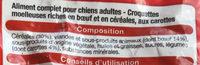 Croquettes chien moelleuses - Ingredients