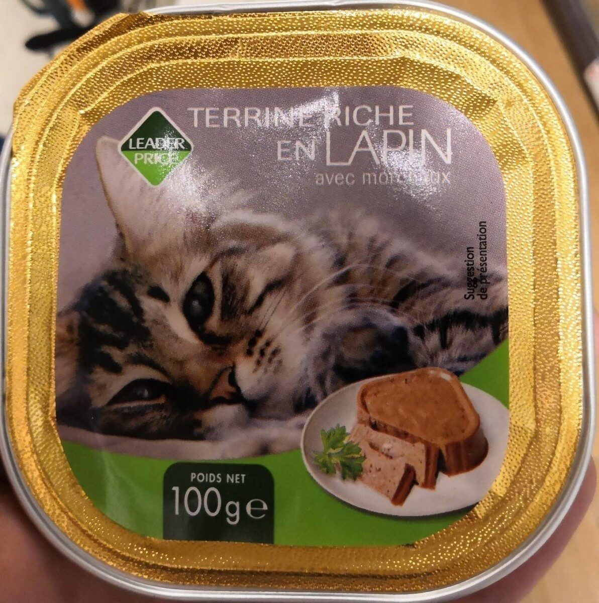 Terrine riche en lapin - Product - fr