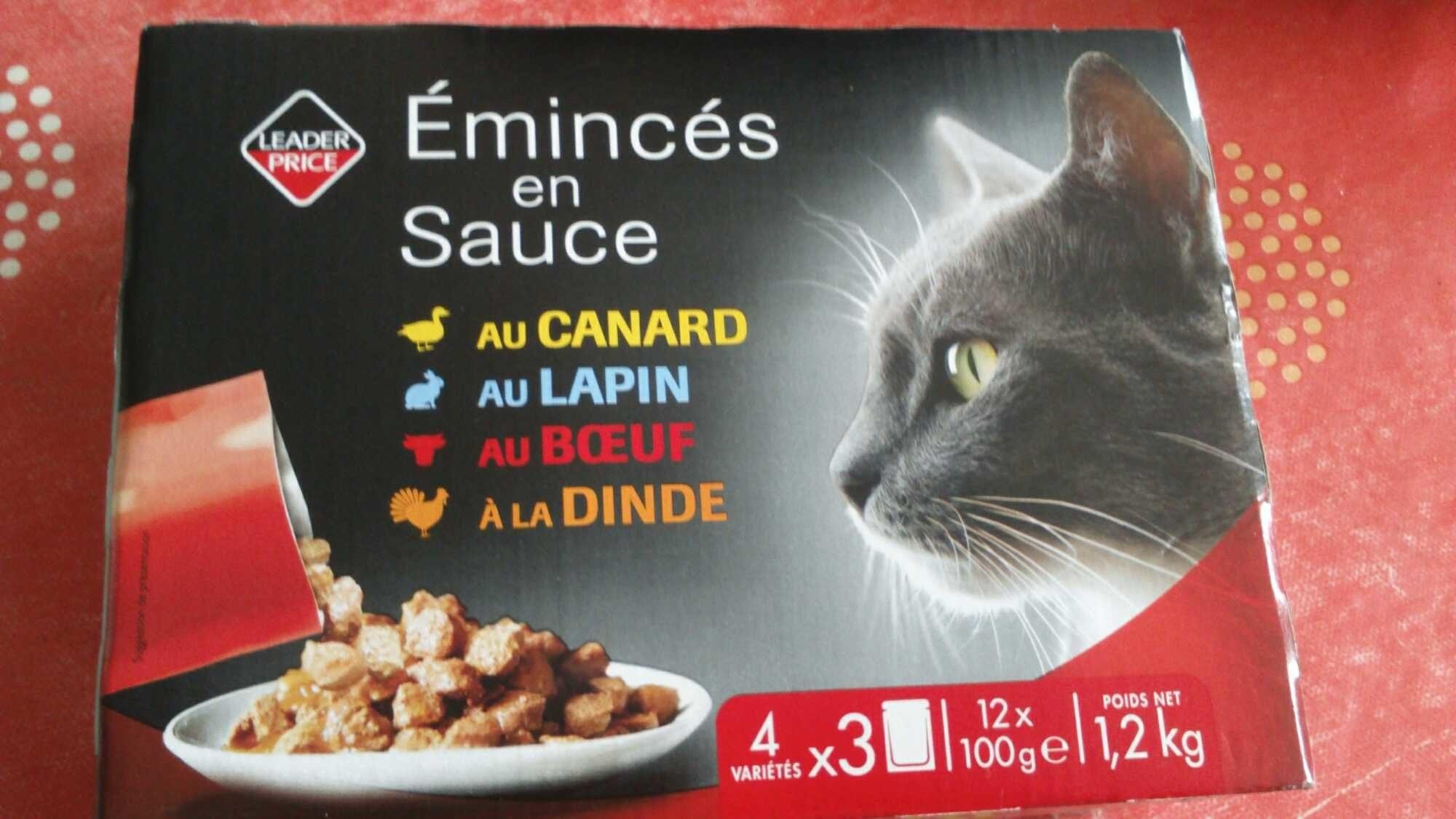 emincés en sauce pour chat - Product