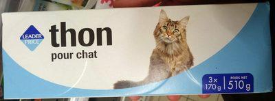 Thon pour chat - Produit
