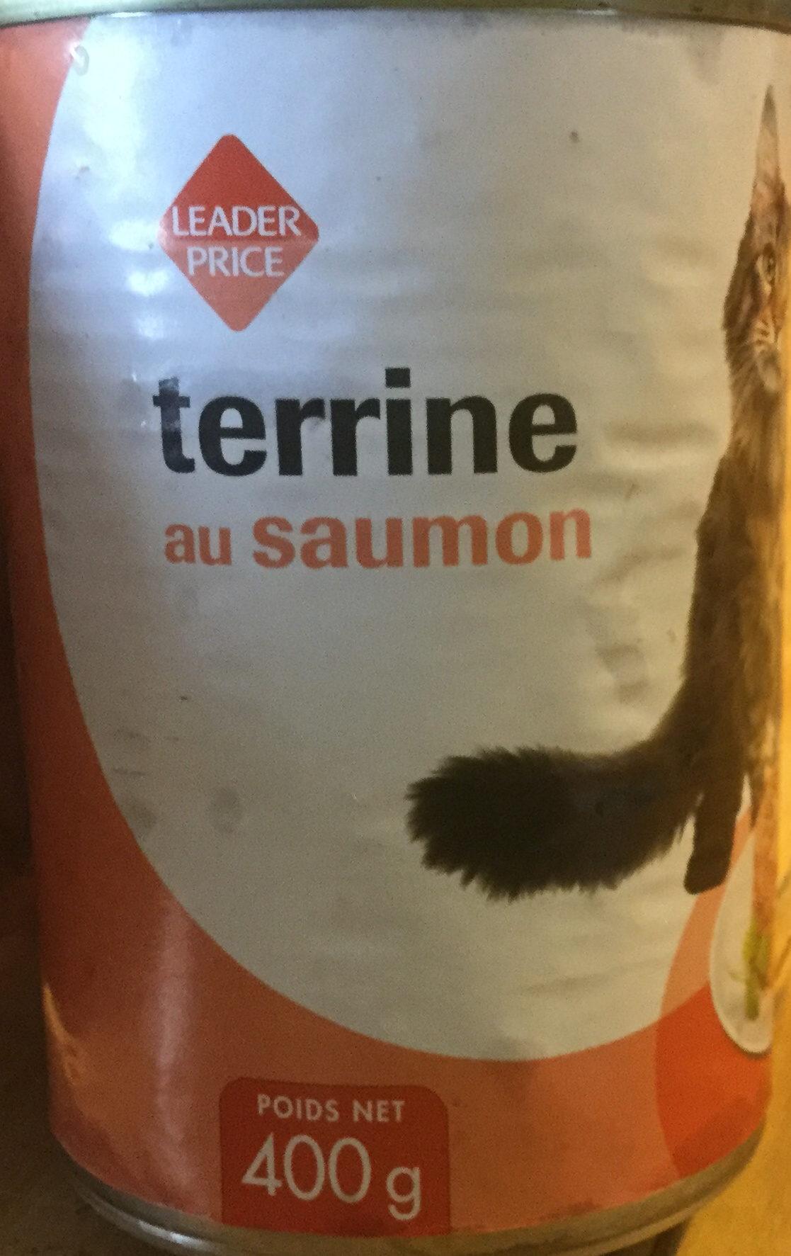 Terrine au saumon - Product