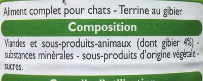Terrine au gibier - Ingredients