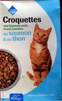 Croquettes aux légumes verts et aux carottes au saumon & au thon - Product