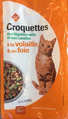 Croquettes aux légumes verts et aux carottes, à la volaille & au foie - Product