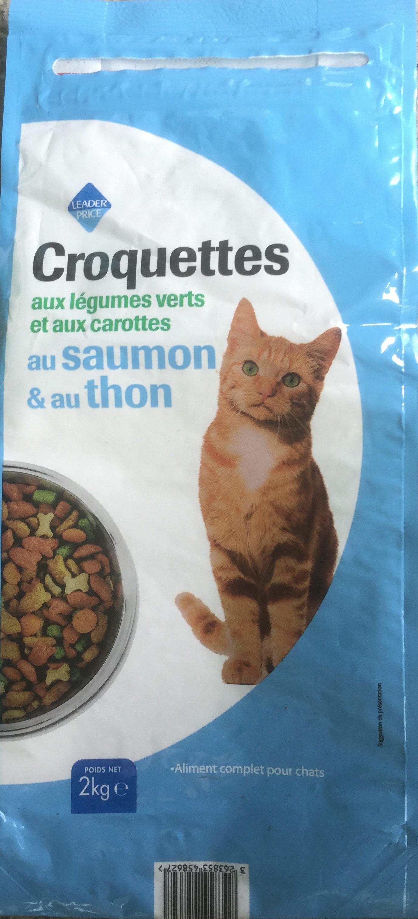 Croquettes saumon thon - Product - fr