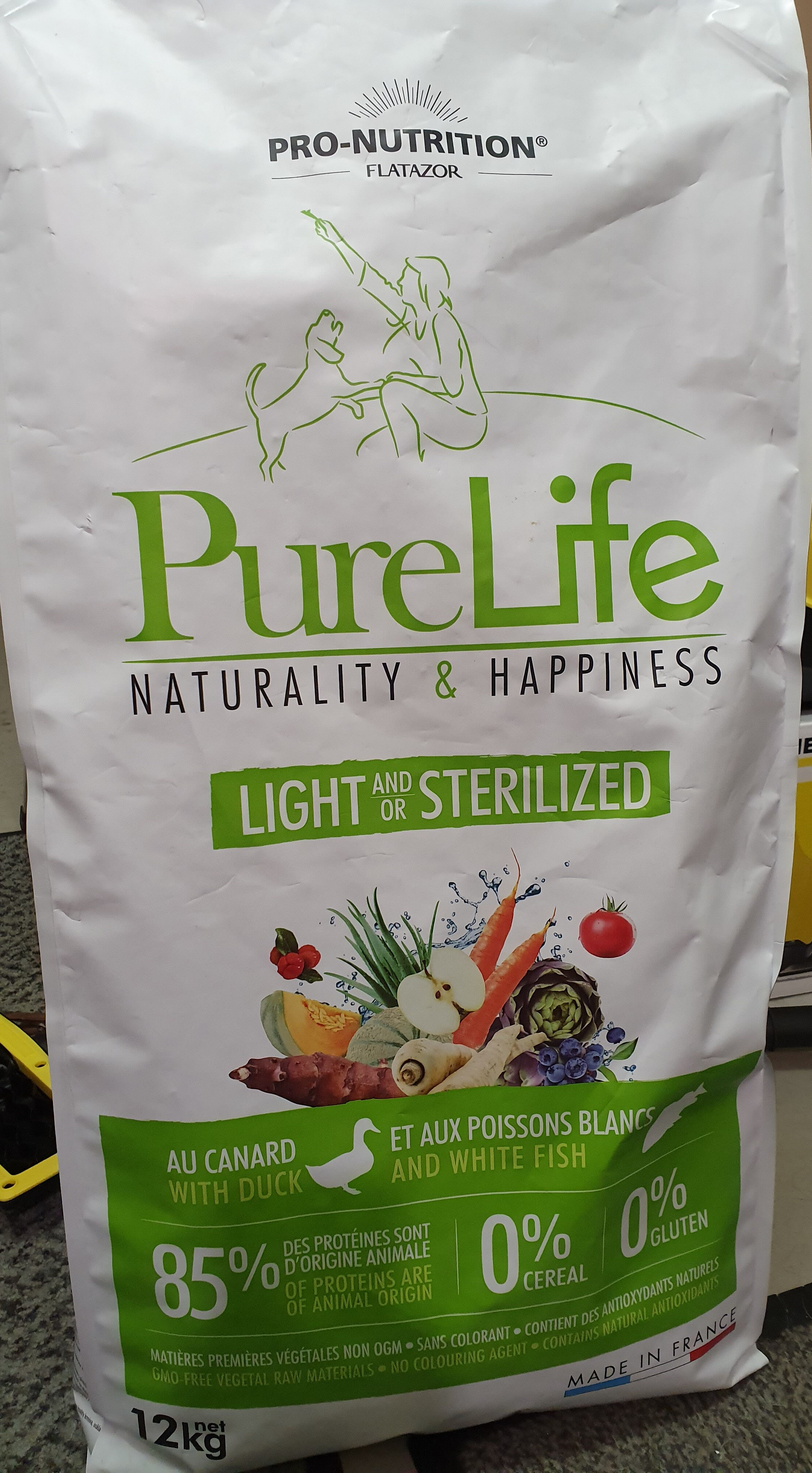 PureLife Naturality & Happiness Light ans sterilized - Product - en