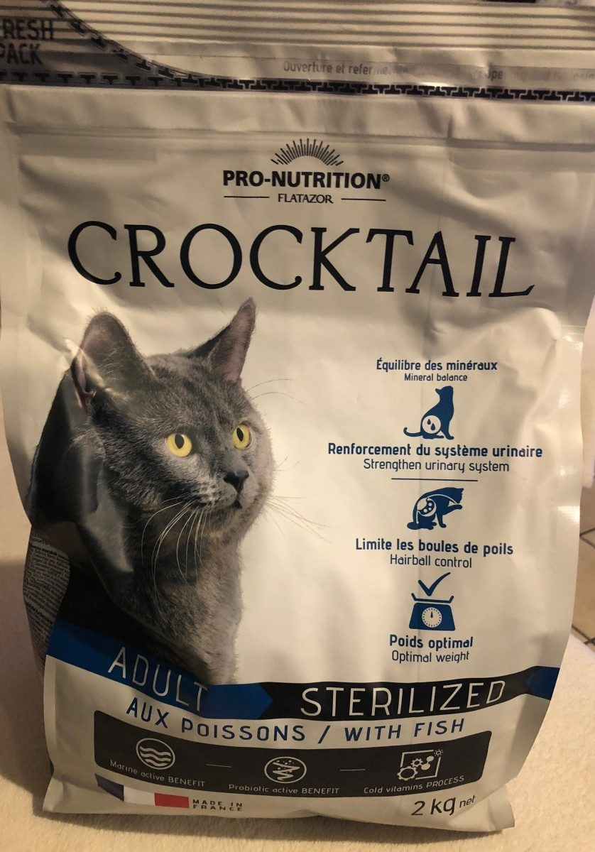 Crocktail chat adulte sterilized - Product