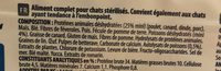 Crocktail chat adulte sterilized - Ingredients