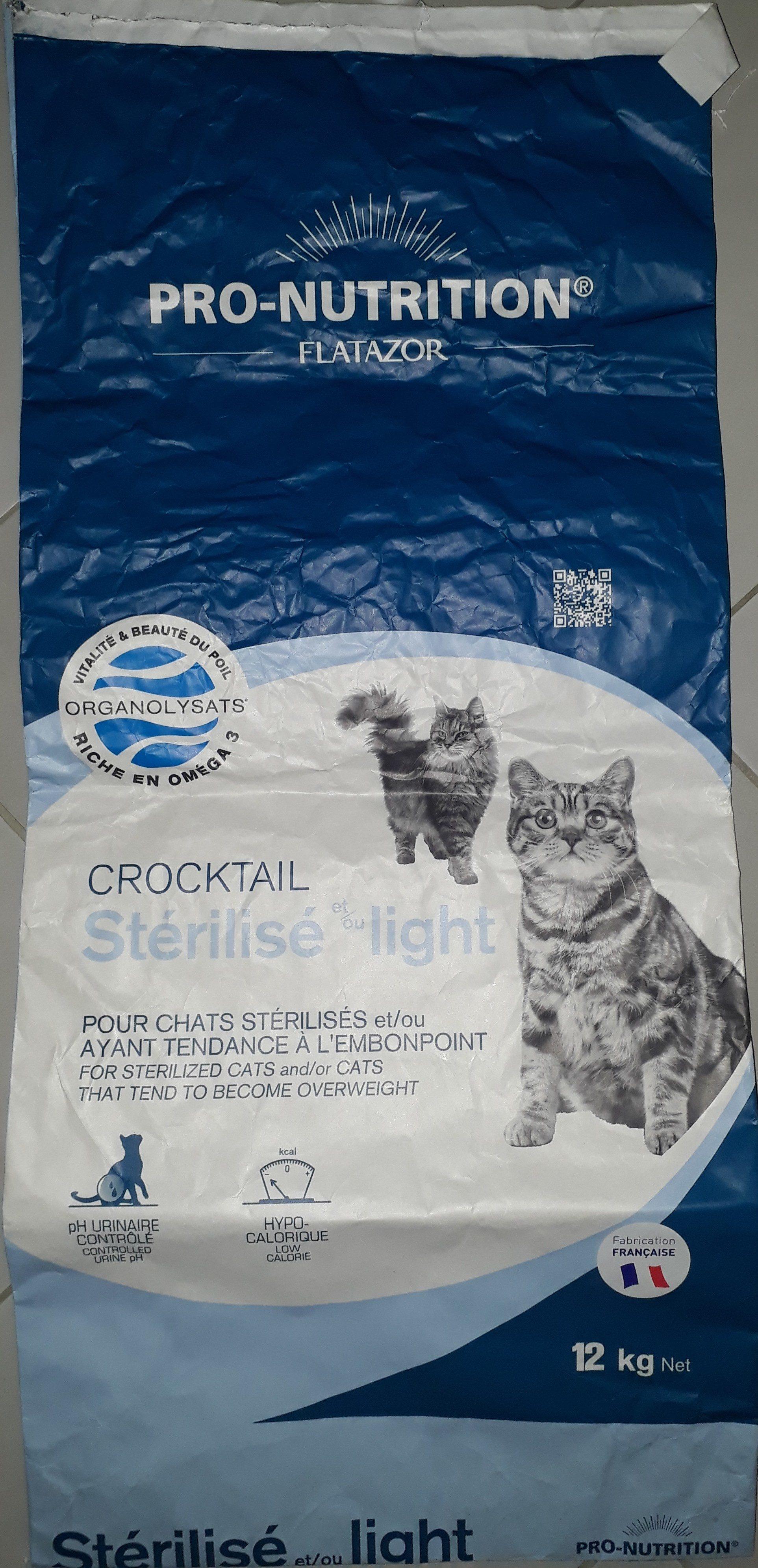 Crocktail Stérilisé et/ou light - Product - fr