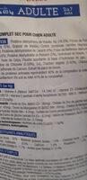 pure origine  canicaf - Ingredients - fr