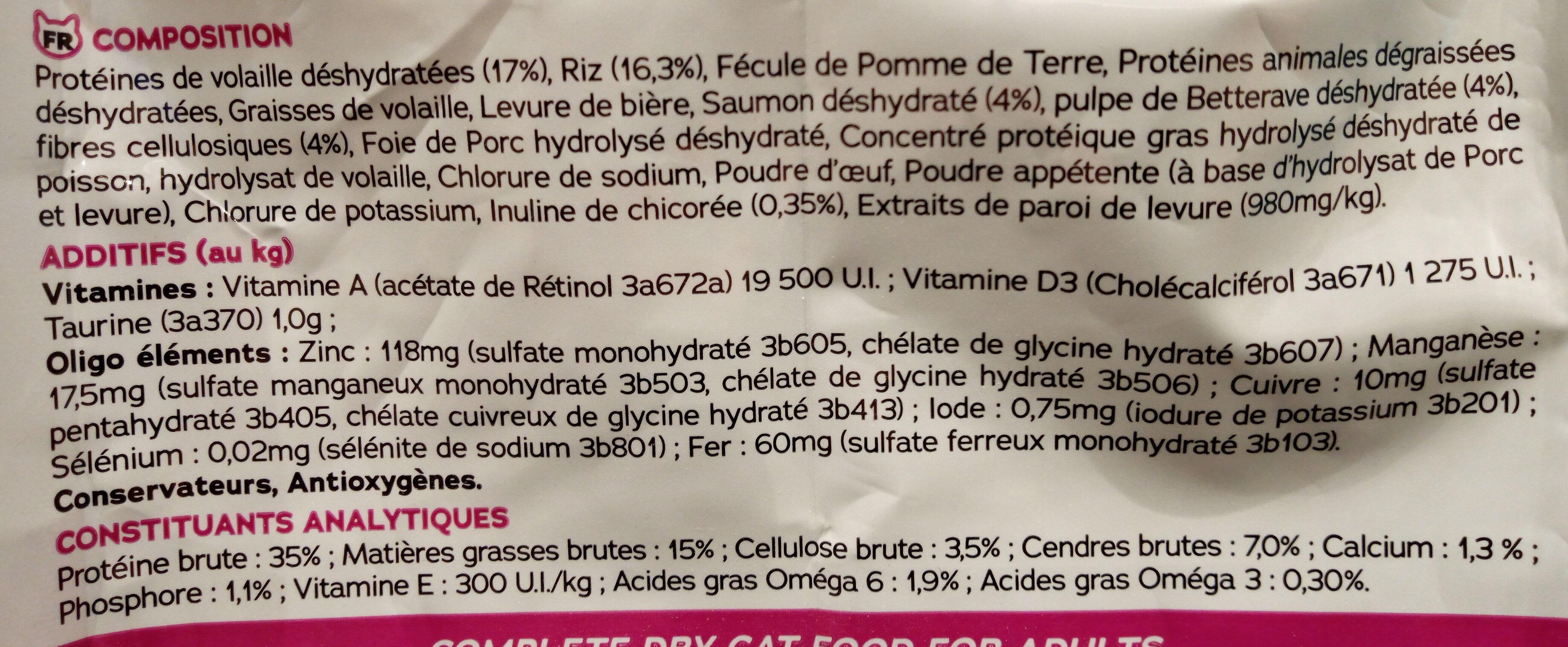 Pure complicity Adulte au saumon - Ingrédients - fr