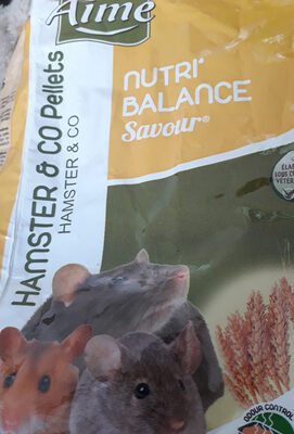 nutri balance hamster& co - Product