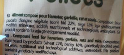 nutri balance hamster& co - Ingredients