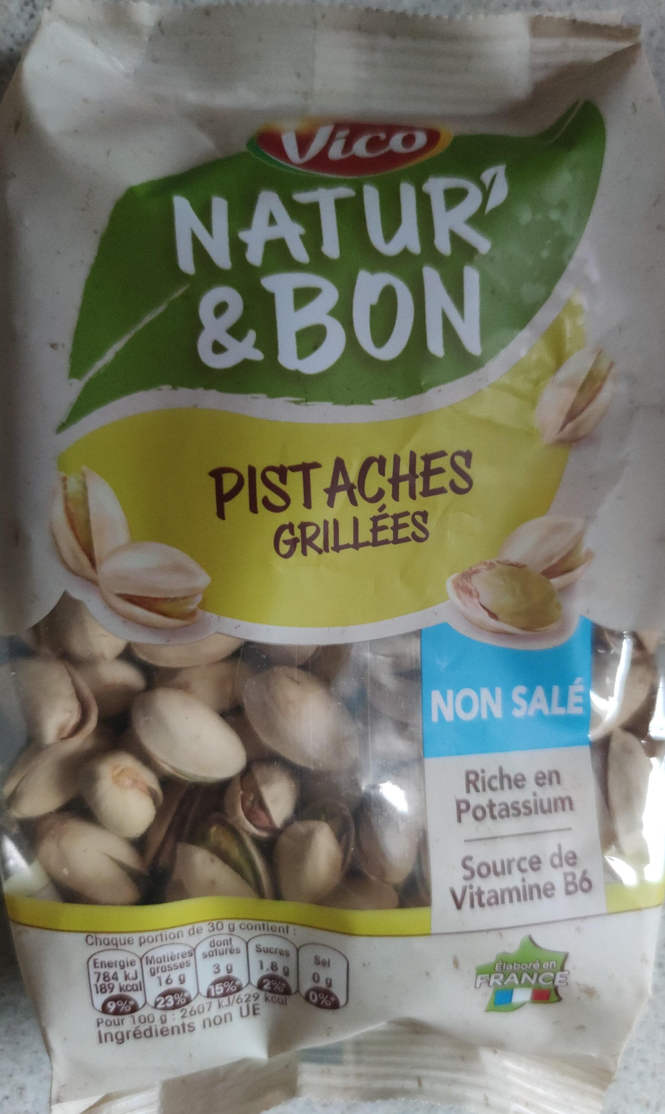 Pistaches grillées - Produit - fr