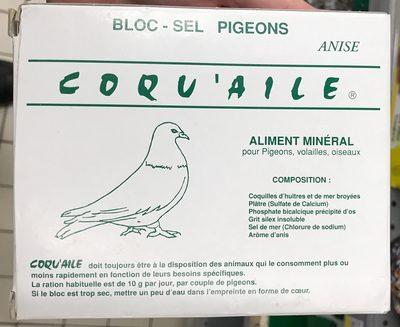Bloc-sel pigeons anisé - Produit