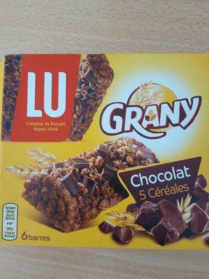 grany chocolat 5 céréales - Produit