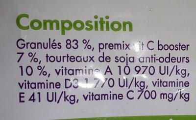 Paradisio - Aliment Complet Pour Cochon D'inde - 2,6KG - Ingredients - fr