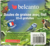 Boules de graisse avec filet - Product