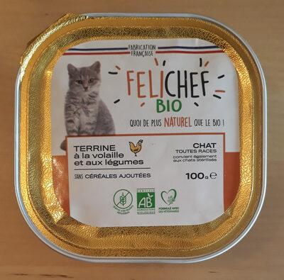 terrine à la volaille et aux légumes - Product - fr
