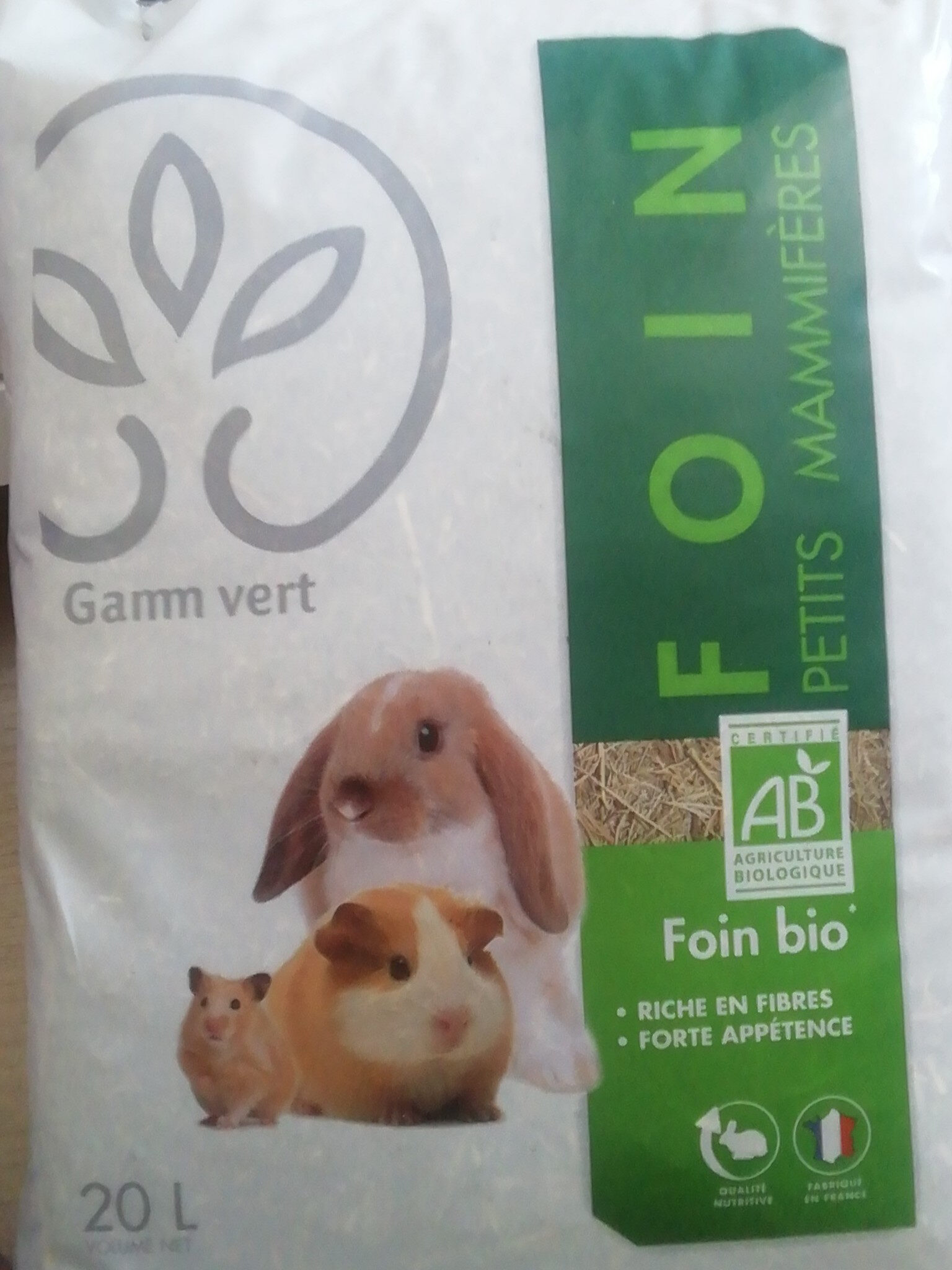 foin petits mammifères - Produit