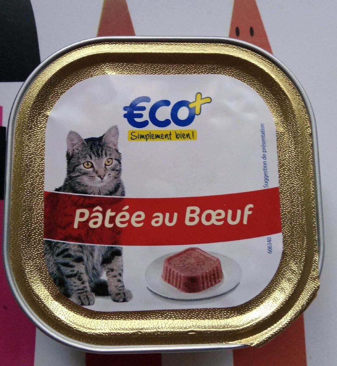 Aliment Complet Boeuf Eco+ 100G - Product