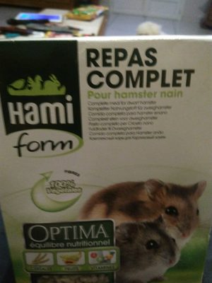 Hamiform - Repas Complet Optima Pour Hamster Nain - 800G - Product