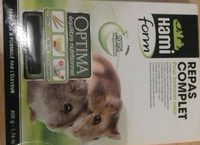 Hamiform - Repas Complet Optima Pour Hamster Nain - 800G - Ingredients - fr