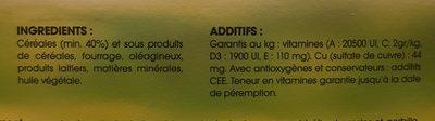 Repas Complet Dègue Du Chili 900GR - Ingredients