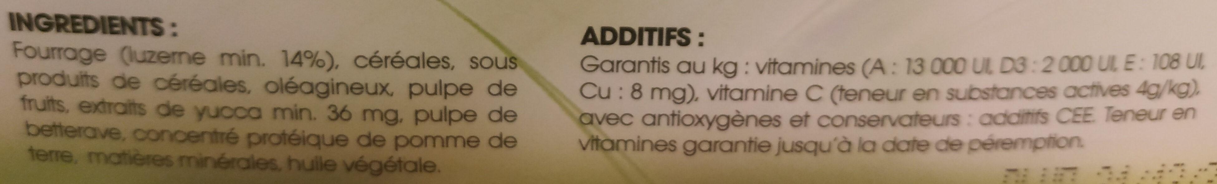 Repas complet - Ingrédients - fr